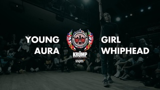 Young Aura vs Girl Whiphead   Female Preselection Round   EBS Krump 2019