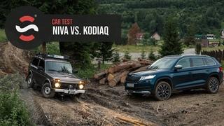 Lada Niva vs Škoda Kodiaq Scout -  - TEST