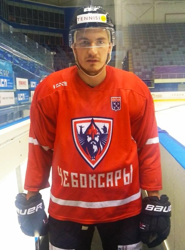Иван Цыпнятов ХК Чебоксары