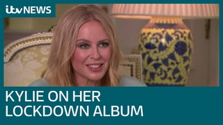 Kylie Minogue on her lockdown blues - full exclusive interview | ITV News