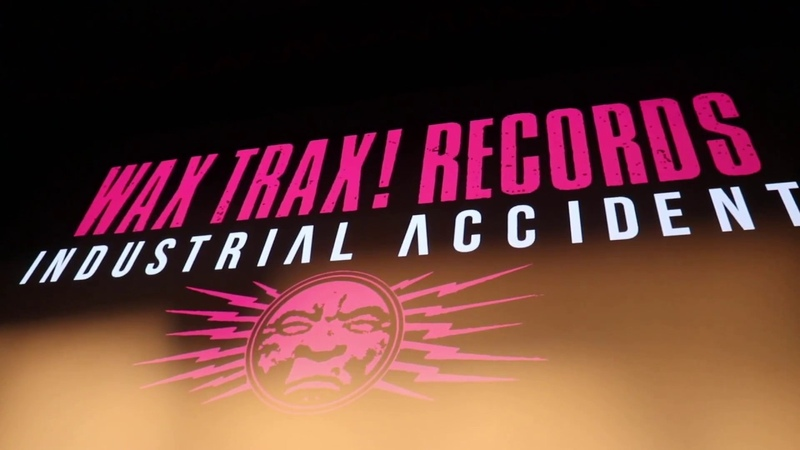 Industrial Accident Wax Trax! pop-up,Q A panel-