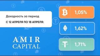 Amir Capital №6 отчет процента с  по  за неделю!