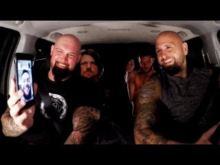 #My1 The Club jokes with Finn Balor on WWE Ride Along (WWE Network Exclusive)
