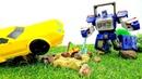 Video educativi con giocattoli. Primo giorno di scuola. Giochi per bambini.