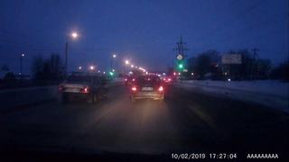 В Пензе обнаружен дерзкий водитель-автохам