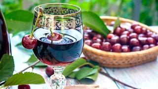 🍒ВИШНЕВАЯ НАЛИВКА, домашняя настойка из вишни на водке🍷