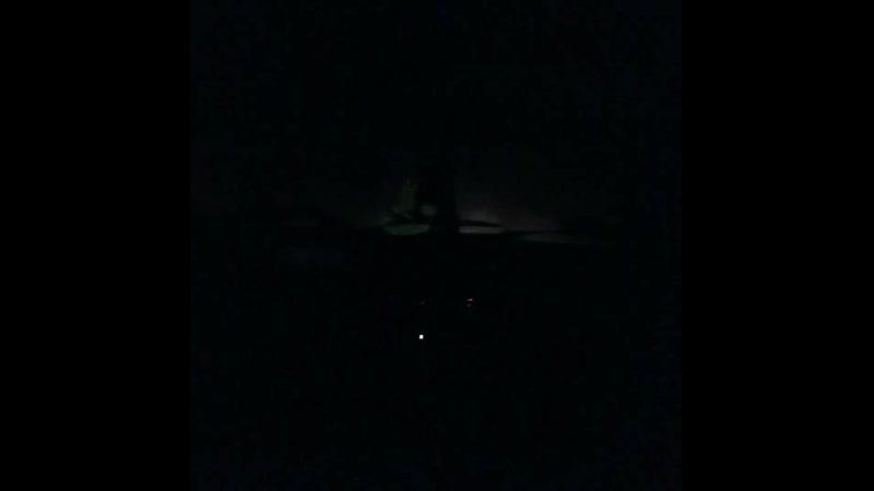 Ночью на лесной дороге между Шокшей и Пакшеньгой