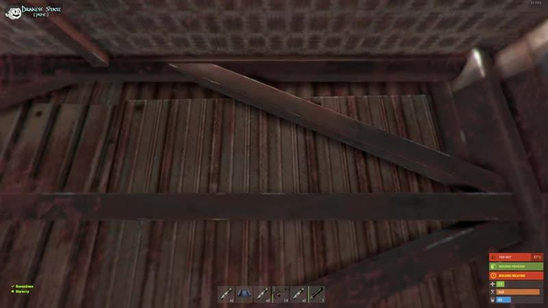 [Drakess] Пока вражеский клан спал, пробрался к ним и УКРАЛ их ДОМ с ЯЩИКАМИ ВЗРЫВЧАТКИ. Такое возможно? Rust.