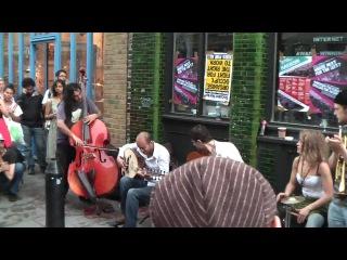 FERNANDO'S KITCHEN Street performance, Bricklane, London